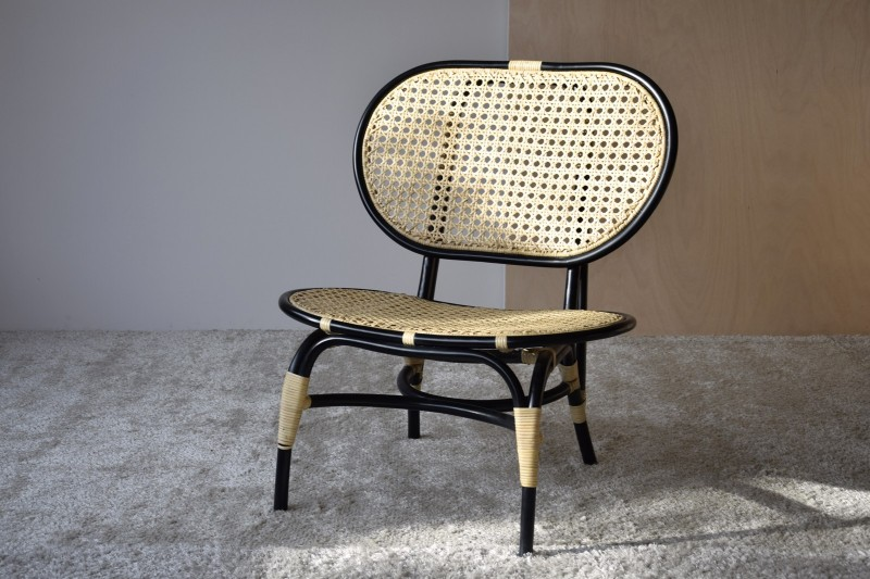 NORMA CHAIR. NATURAL RATTAN
