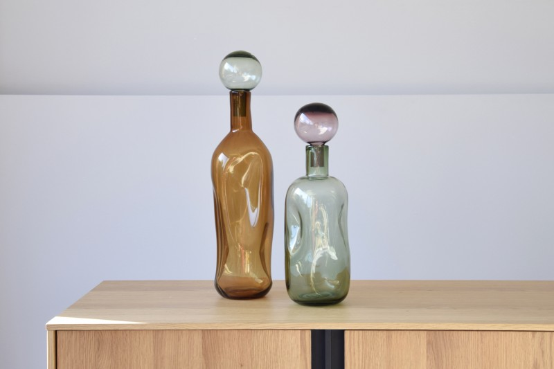 BOTTLE COLLECTION II: COLOURED GLASS BOTTLES