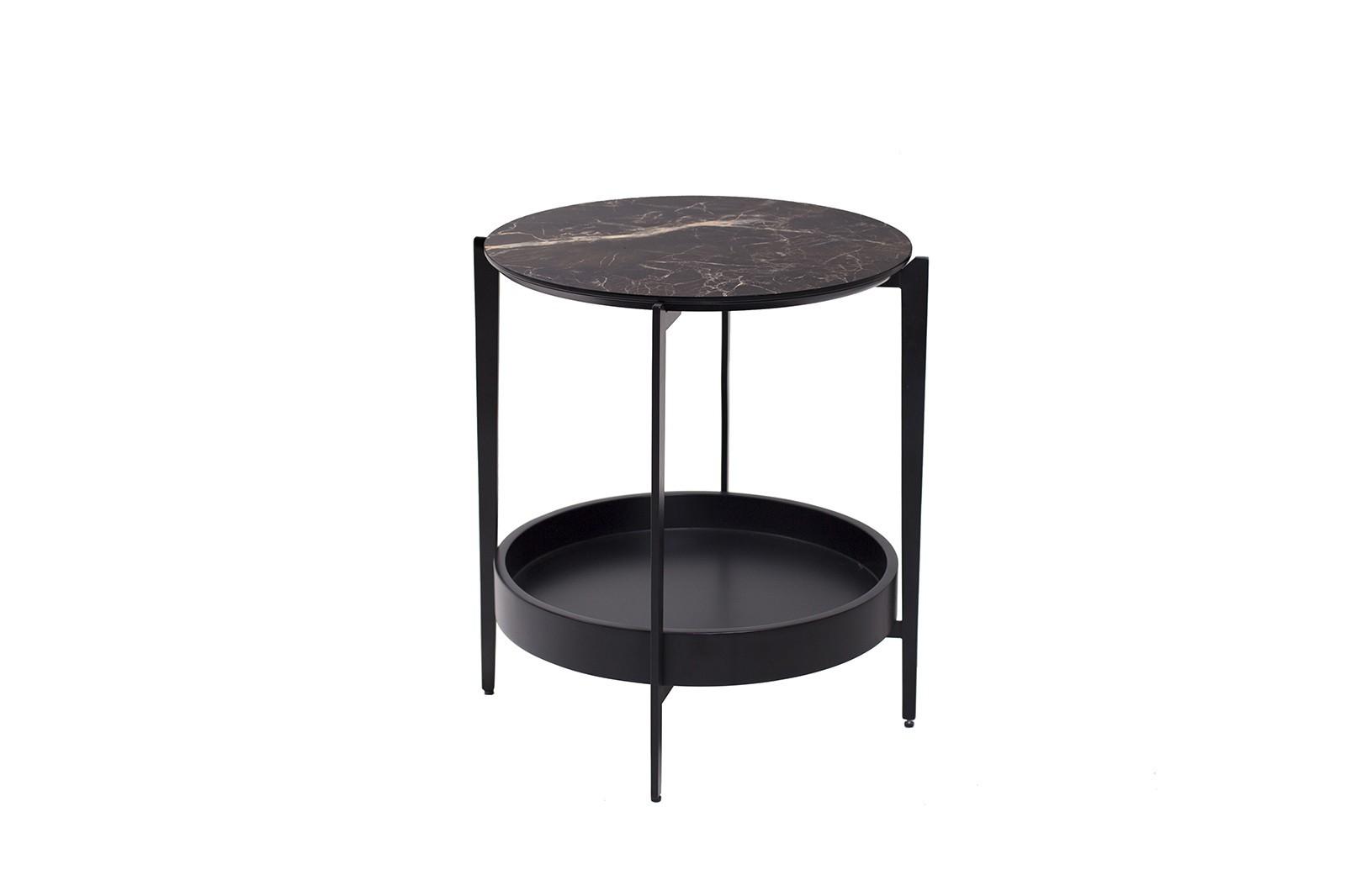 SIDE TABLE N.52 METAL CERAMIC