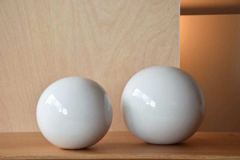 CERAMIC SMOOTH WHITE BALLS COLLECTION XL