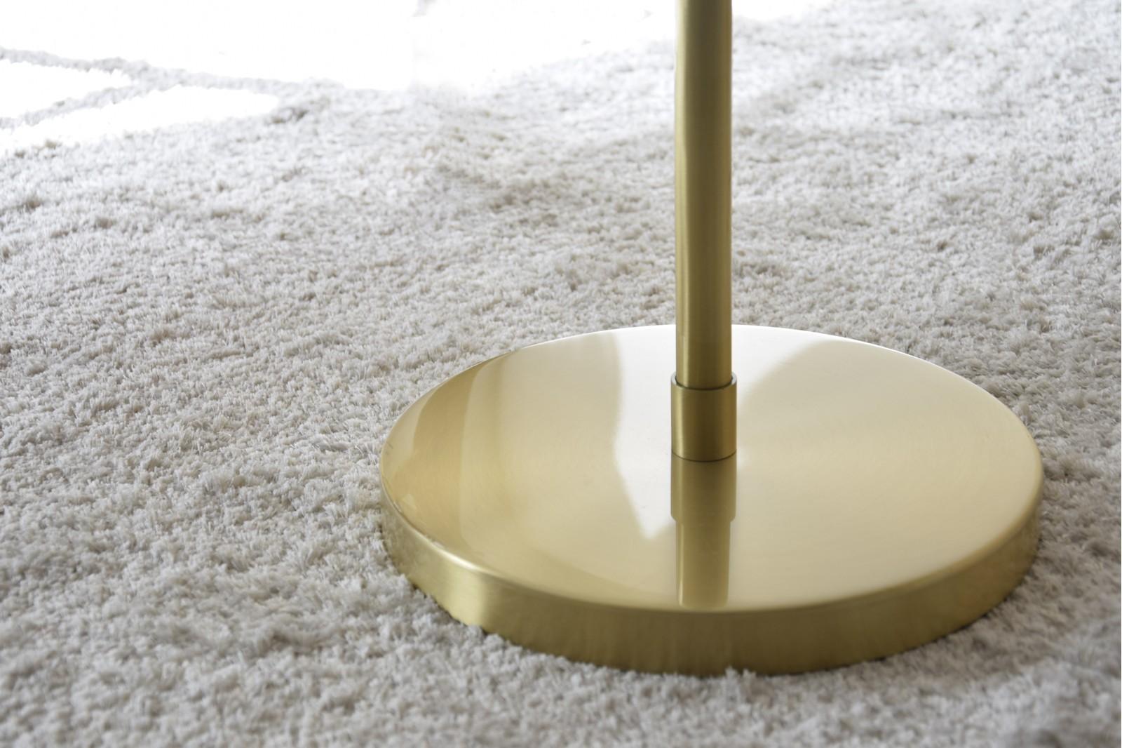FLOOR LAMP AGARIMO. METAL-GLASS