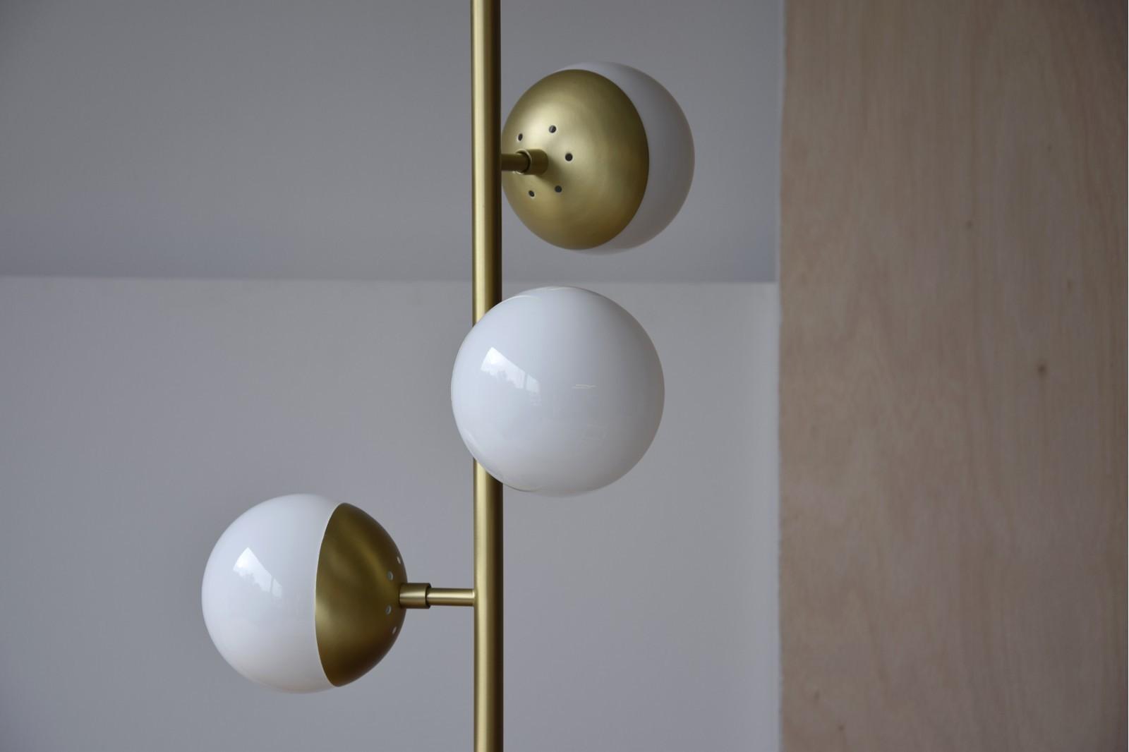 TABLE LAMP LUSCOFUSCO. METAL-GLASS