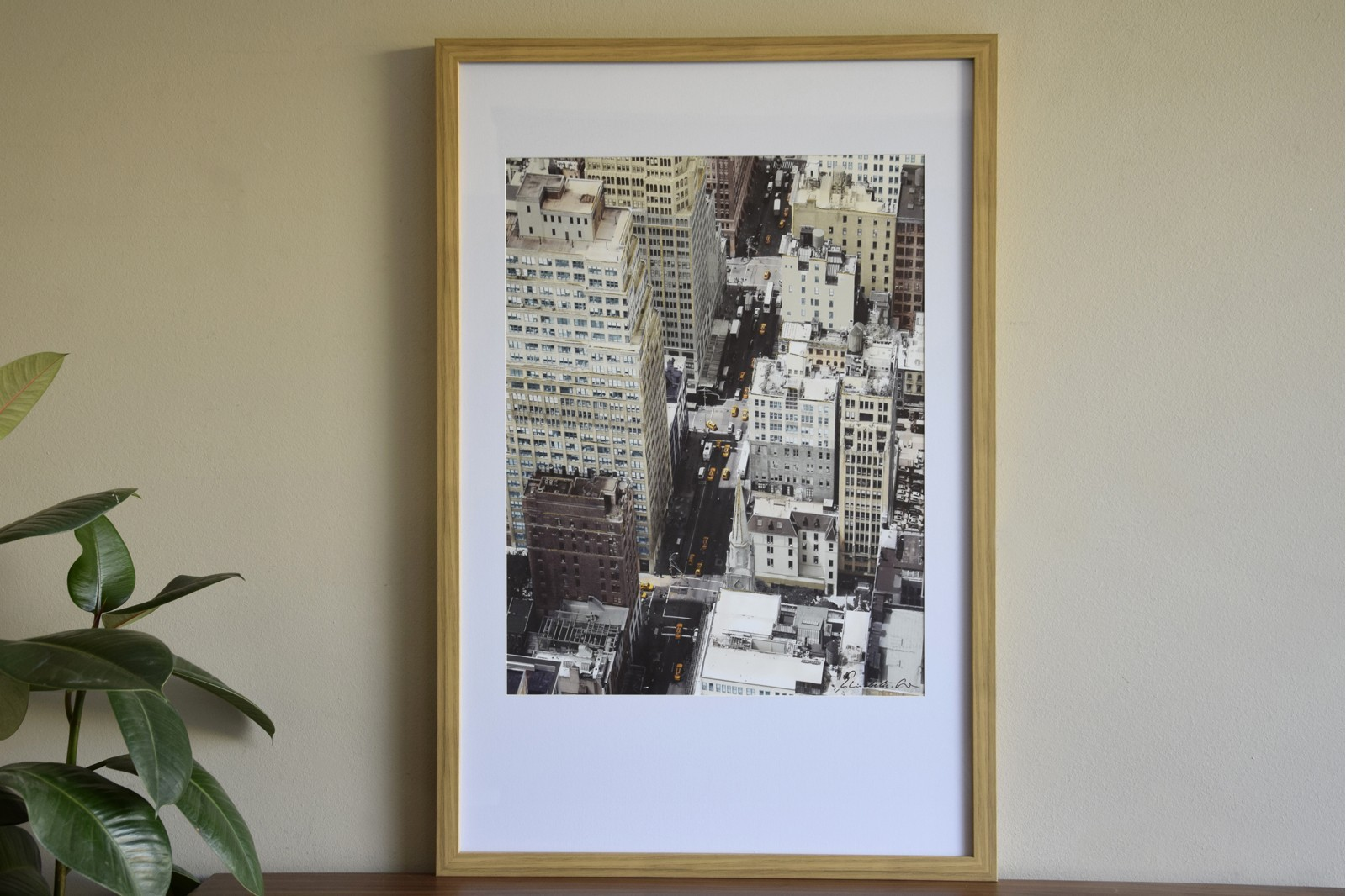 PICTURE THE CITY 02 WITH FRAME