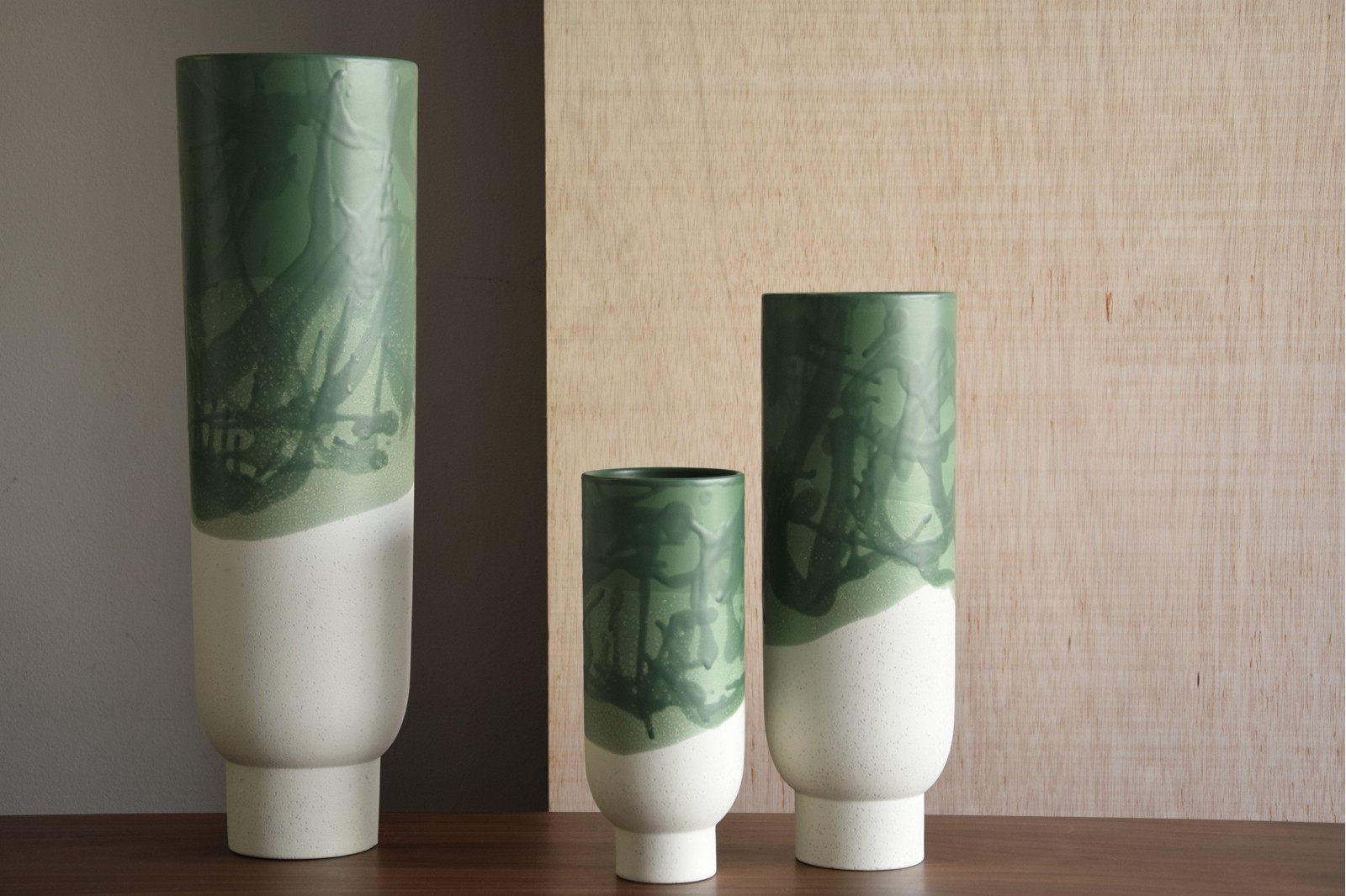 FOREST COLLECTION : CERAMIC VASES