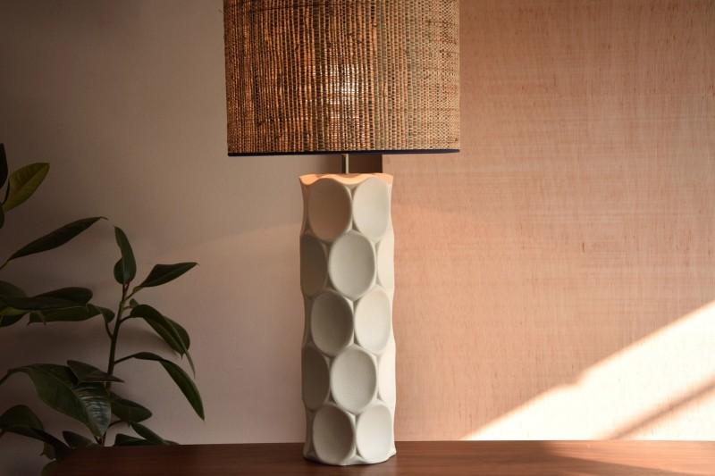 CERAMIC LAMP. VEINTE COLLECTION