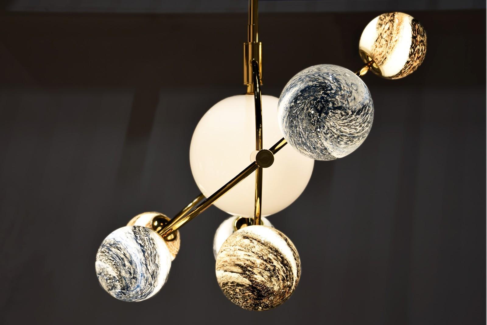 COSMOS PENDANT LAMP SMALL  LED G9 8x5W