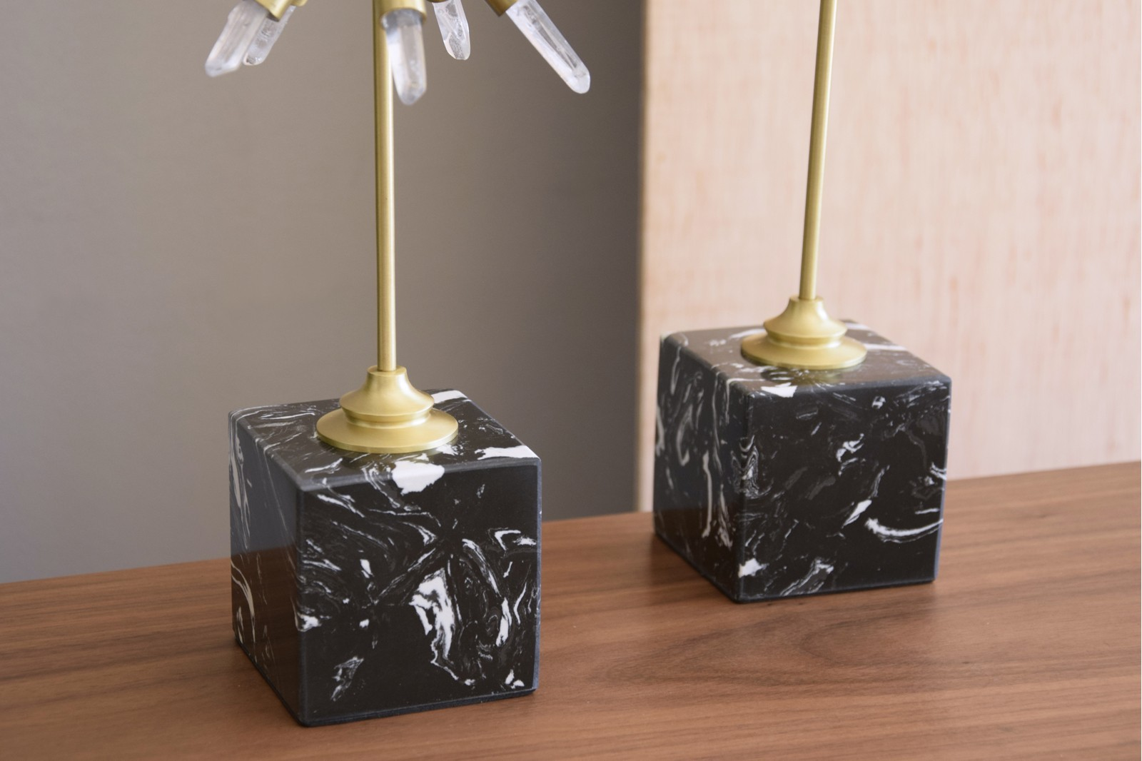 EXPLOSION COLLECTION. CRYSTAL, METAL AND MARBLE SCULPTURE