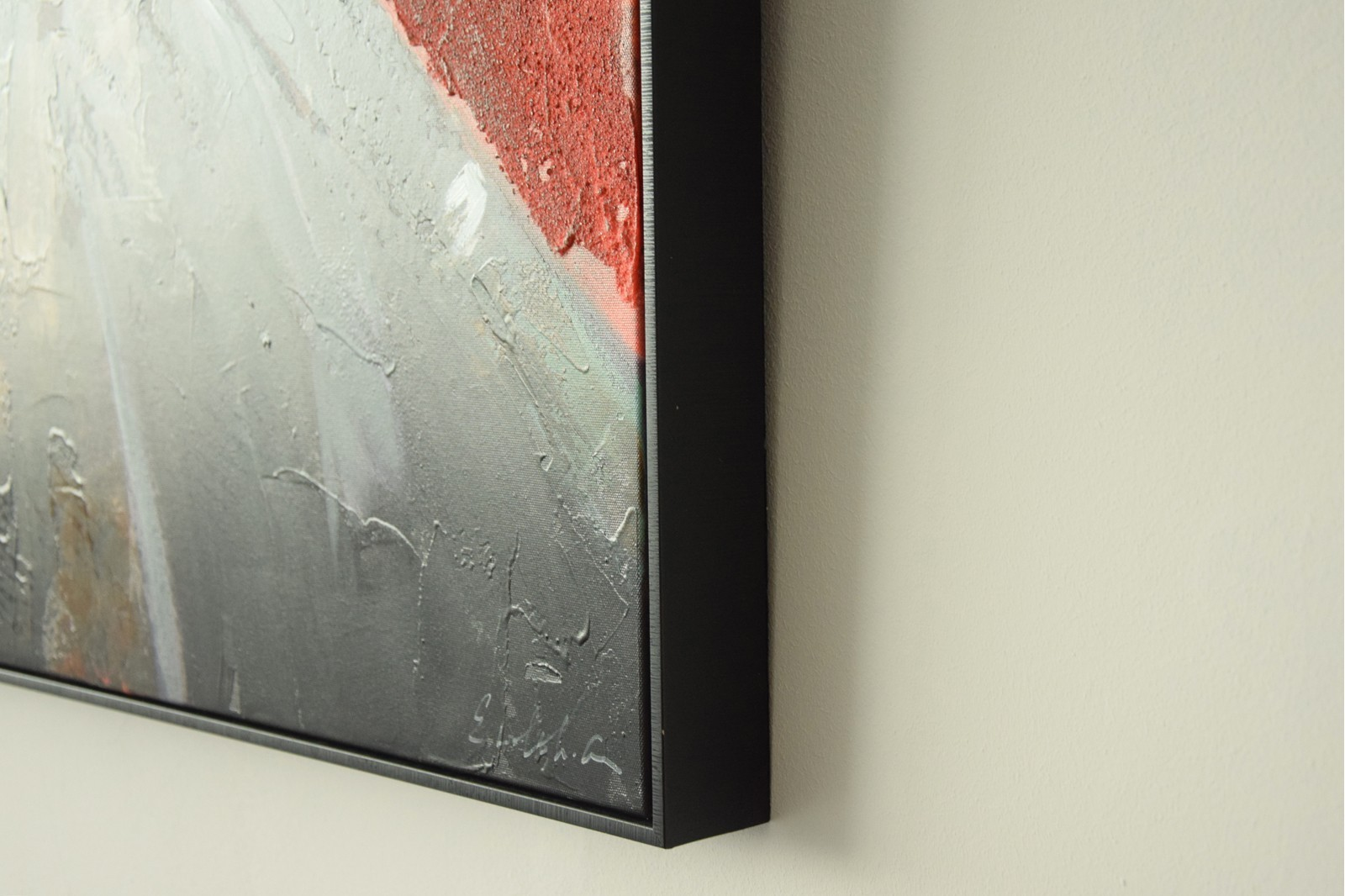 MODERN PAINTING JAPANESE N2 WITH FRAME