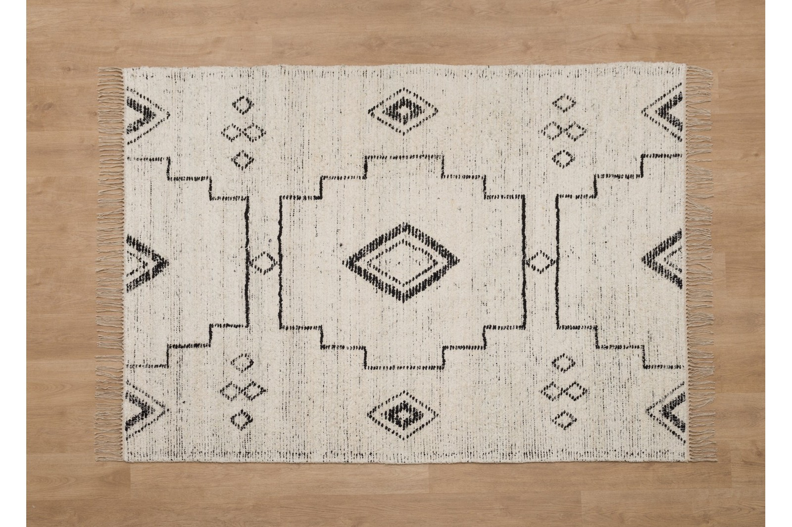 ADRIA RUG. COTTON AND ETHNIC PATTERNS