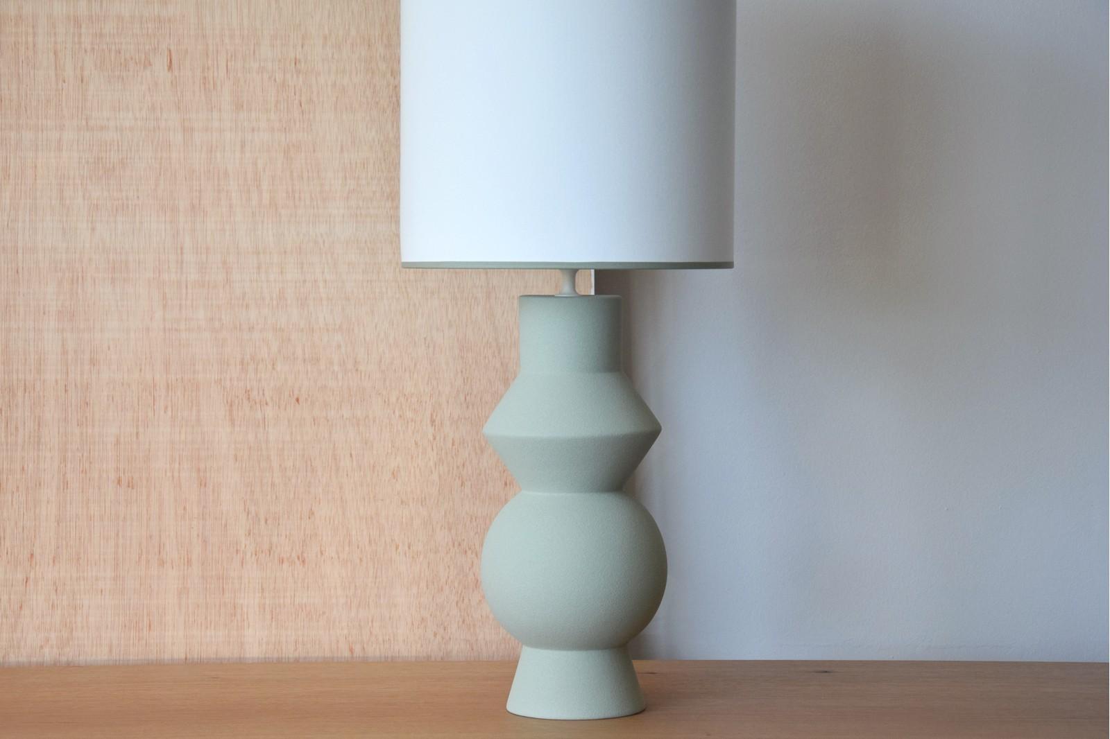 CERAMIC LAMP FORMA MOSS COLOR