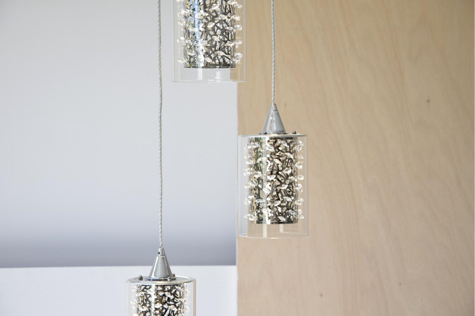LAMPARA DE TECHO CASCADA LED 3X5W. PE