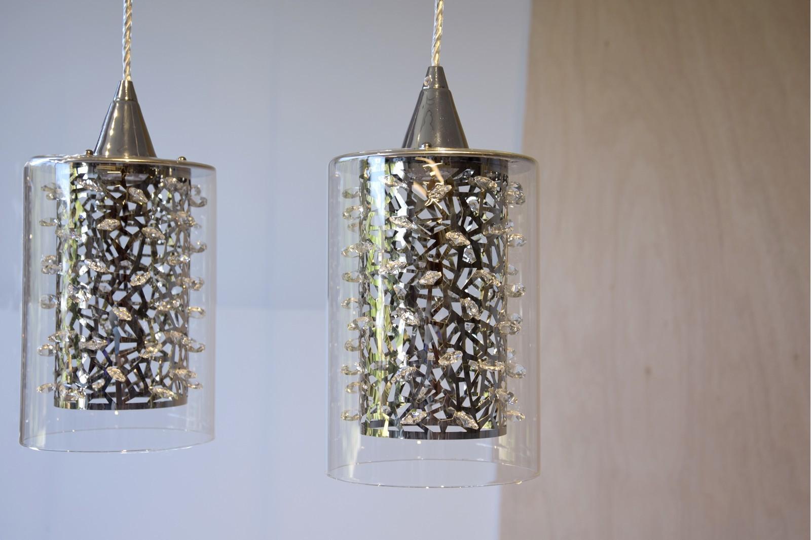 CEILING LAMP RAIN. 4 LED LIGHTS.PE