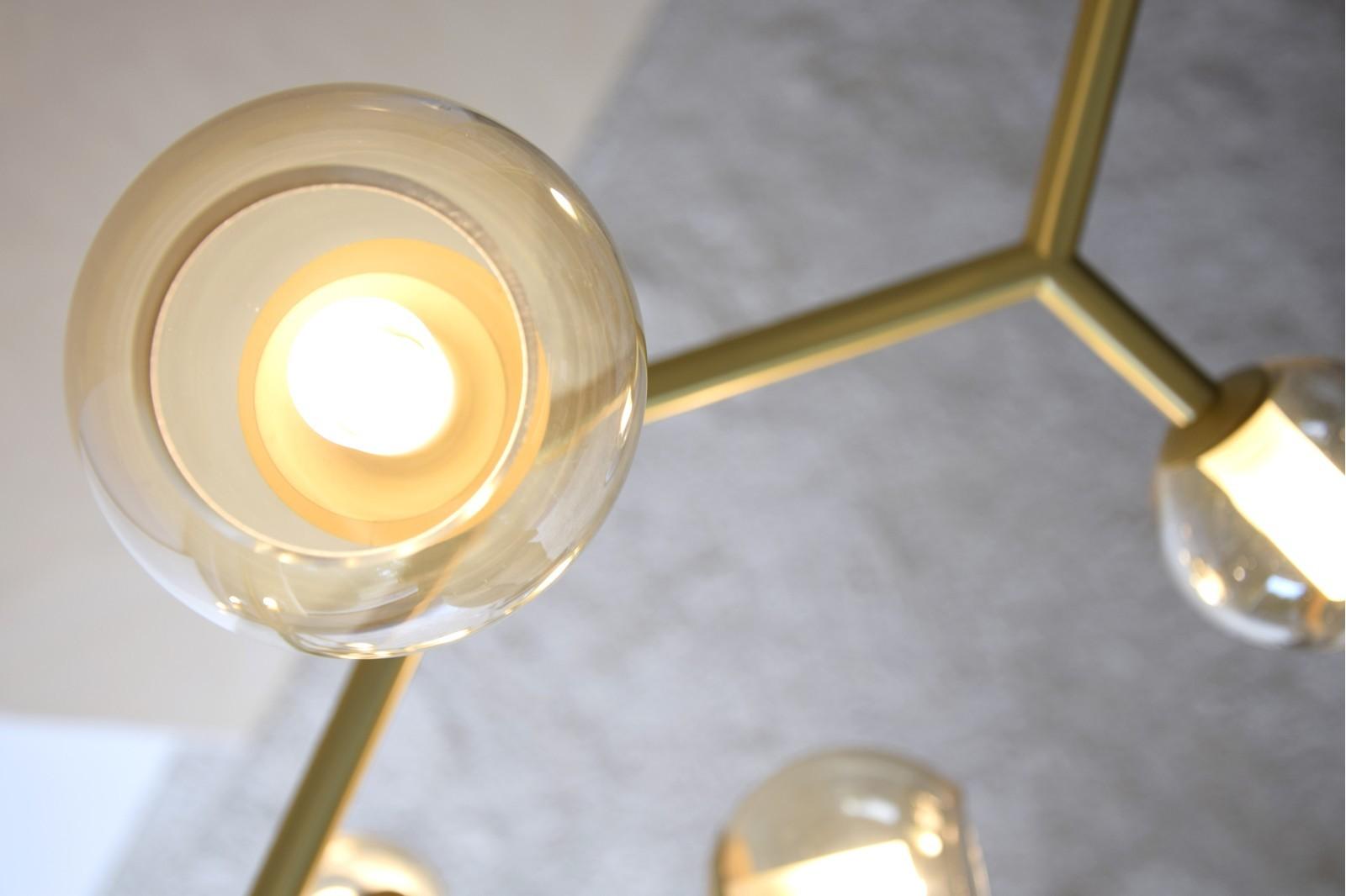 PENDANT LAMP ORBALLO.METAL-GLASS