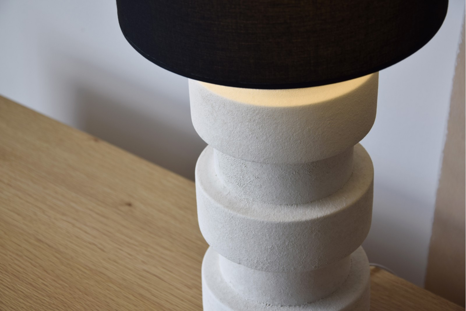 CERAMIC LAMP EIRO W/SHADE
