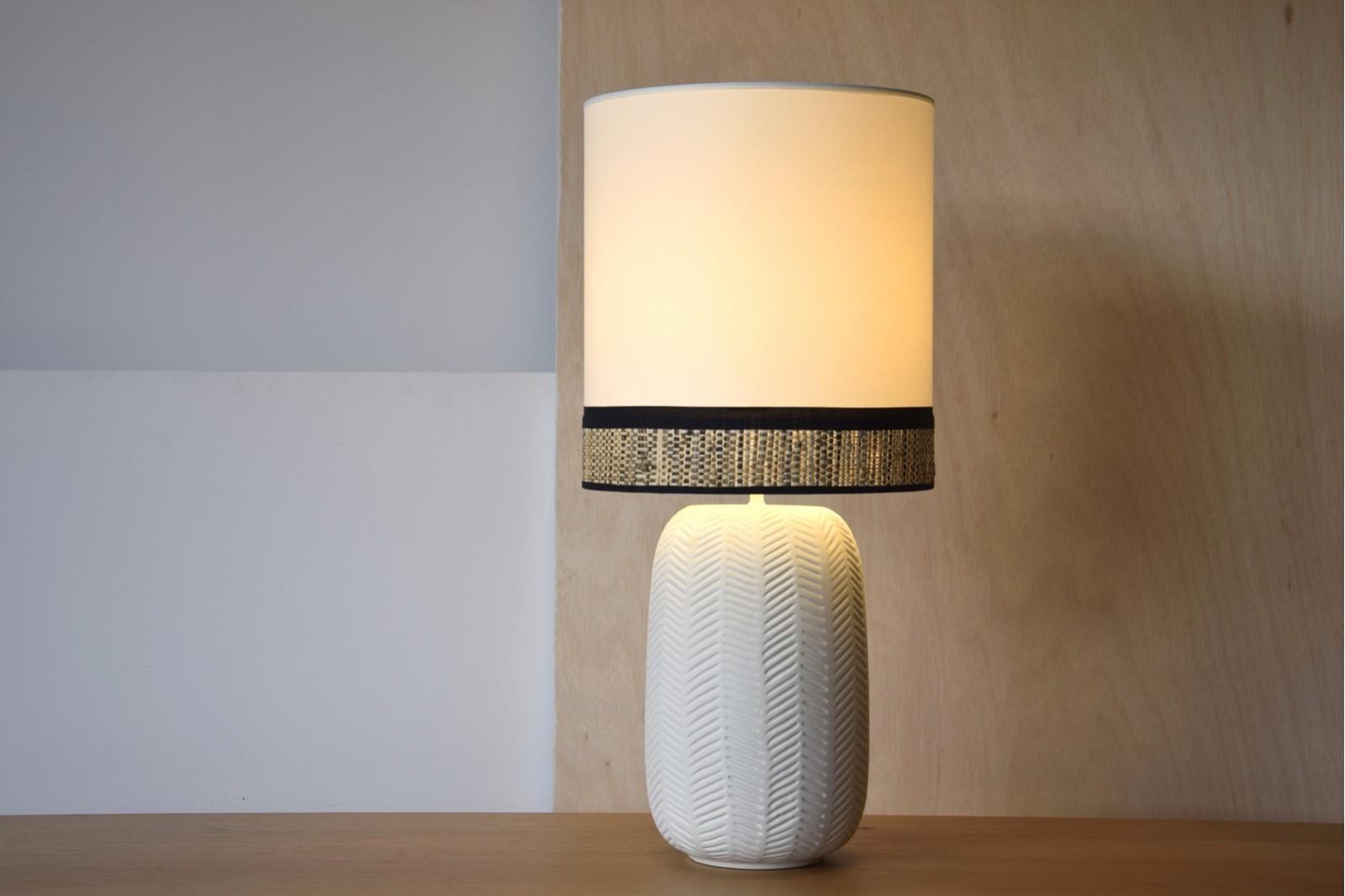 CERAMIC LAMP CLOE W/SHADE.SMALL